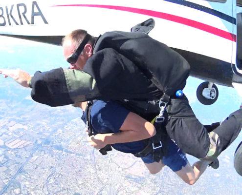 sauter en parachute à Toulouse avec Parajump