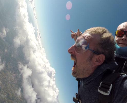 baptême parachute tandem