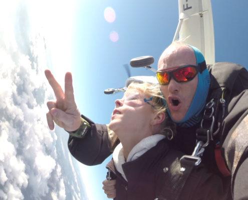 faire un baptême parachute