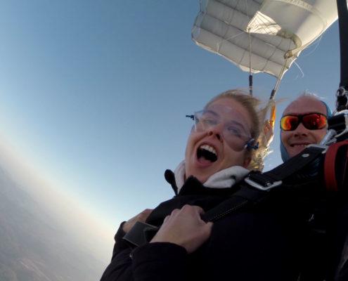 vol en parachute