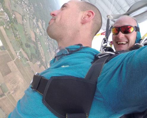 baptême parachute agen