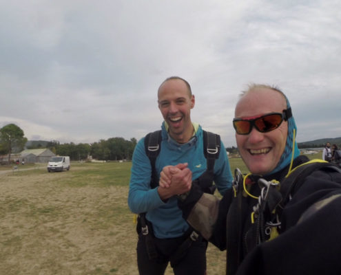 baptême vol parachute agen