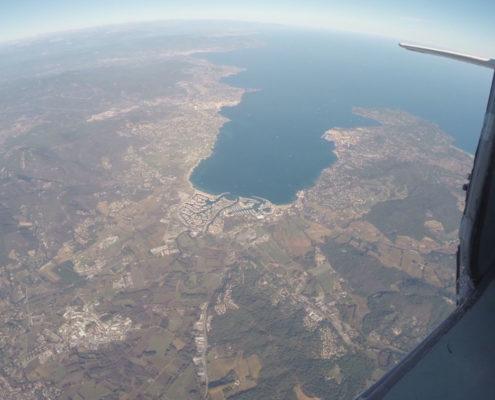 vol parachute