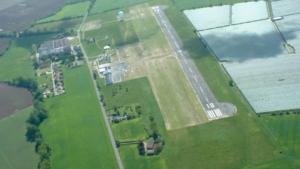 vue du ciel aérodrome Moissac Castelsarrasin Gandalou