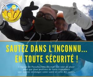 saut parachute toulouse montauban ariège auch